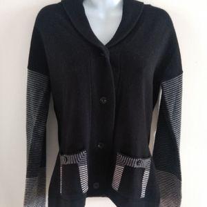 Patagonia lambwool button down sweater